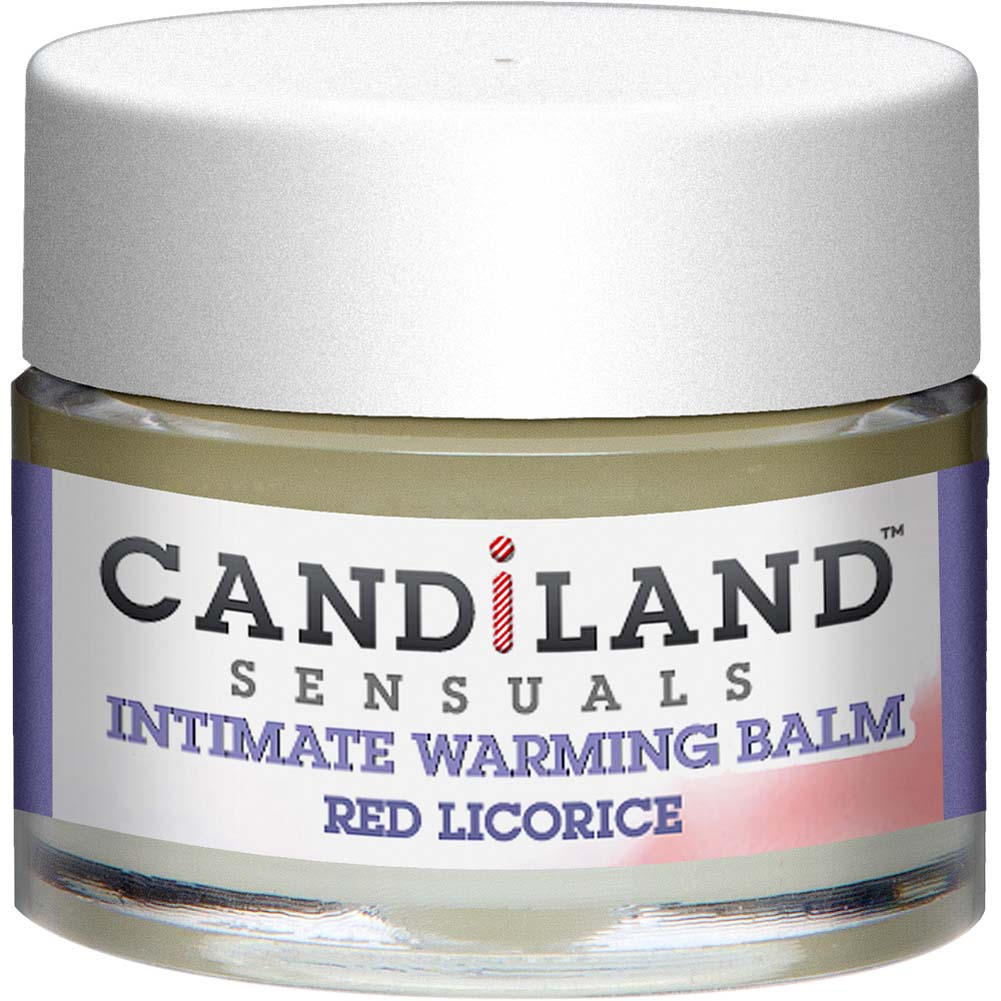 CANDiLAND SENSUALS Intimate Warming Balm 0.25 Oz 7 G Red Licorice - View #2