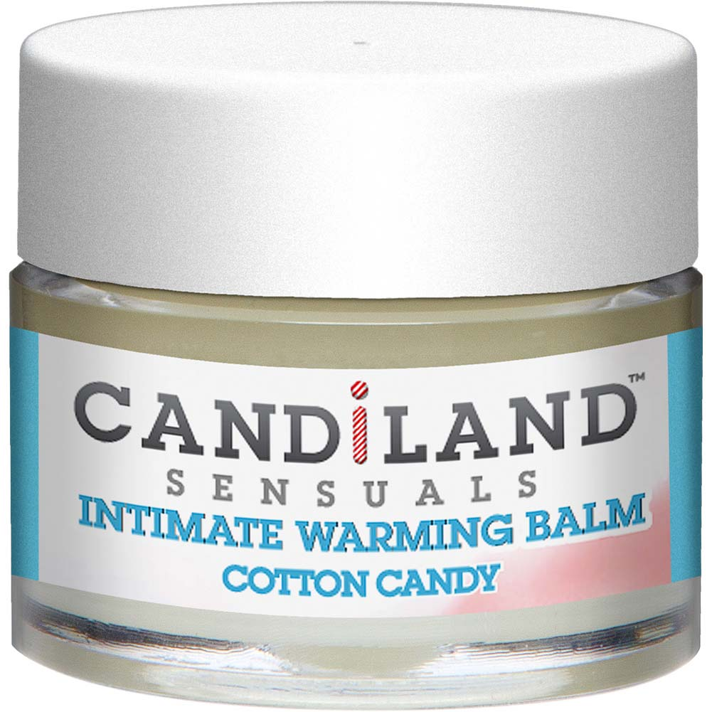 CANDiLAND SENSUALS Intimate Warming Balm Cotton Candy 0.25 Oz. - View #2