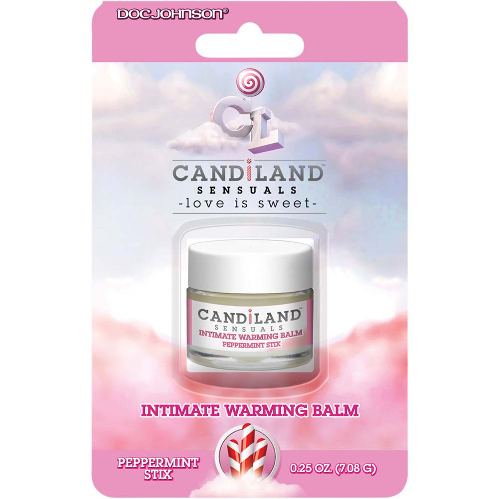 CANDiLAND SENSUALS Intimate Warming Balm 0.25 Oz 7 G Peppermint Stix - View #1