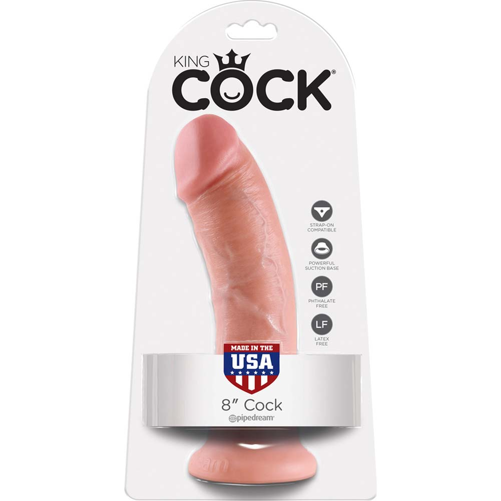 "King Cock 8"" Cock Flesh - View #4"