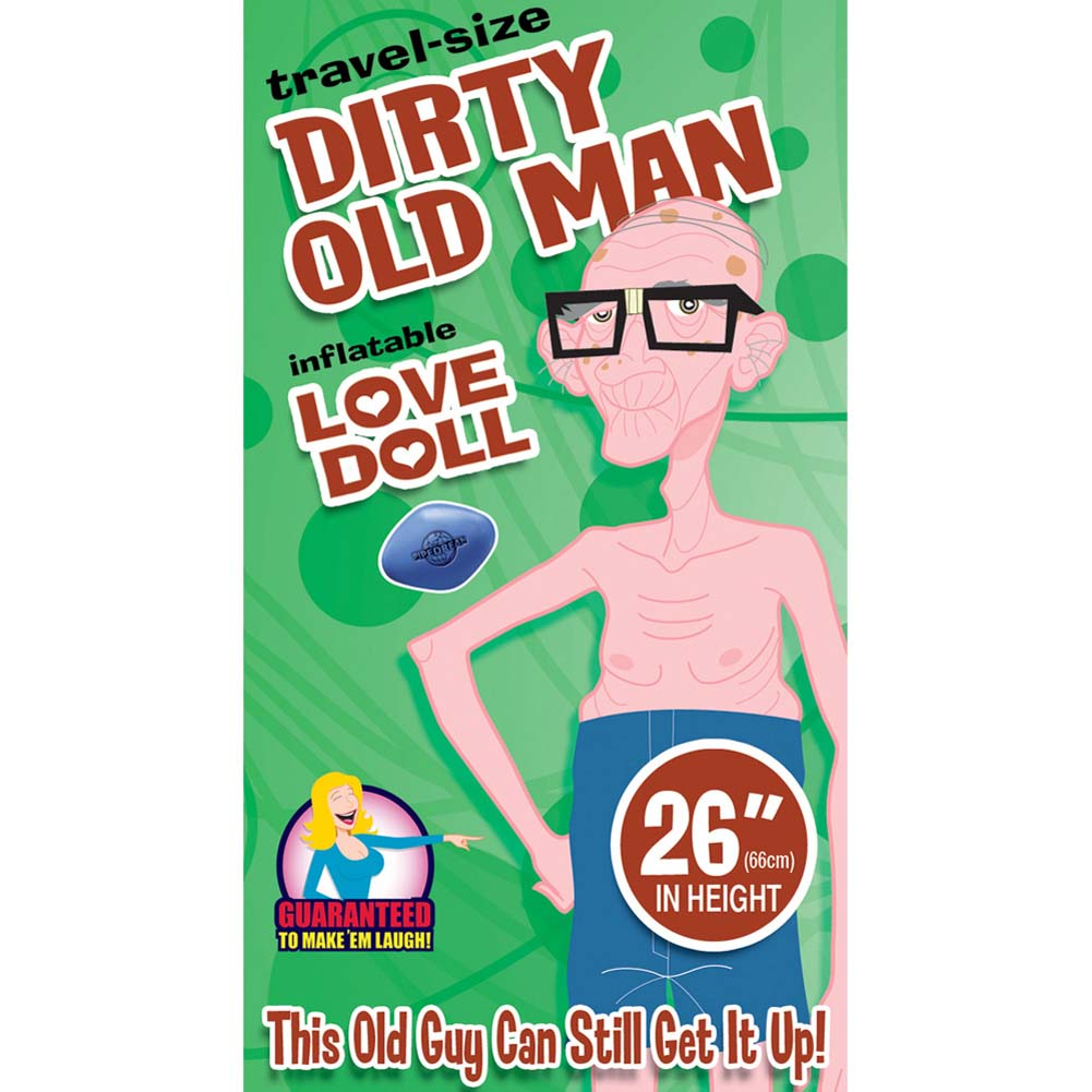 Travel Size Dirty Old Man Doll - View #2