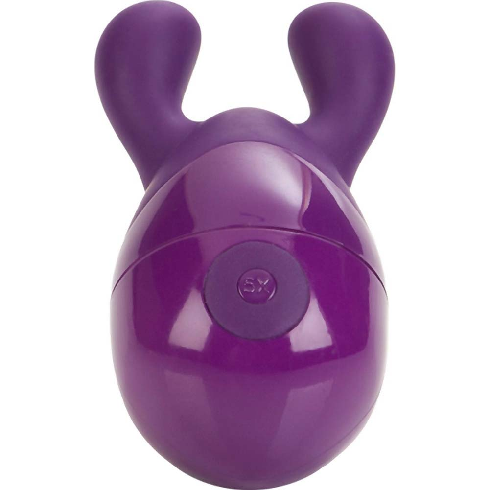 "CalExotics Body and Soul Elation Vibrating Massager 4.5"" Purple - View #3"