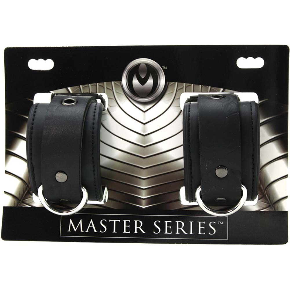 Master Series Serve Neoprene Buckle Cuffs Black - View #3