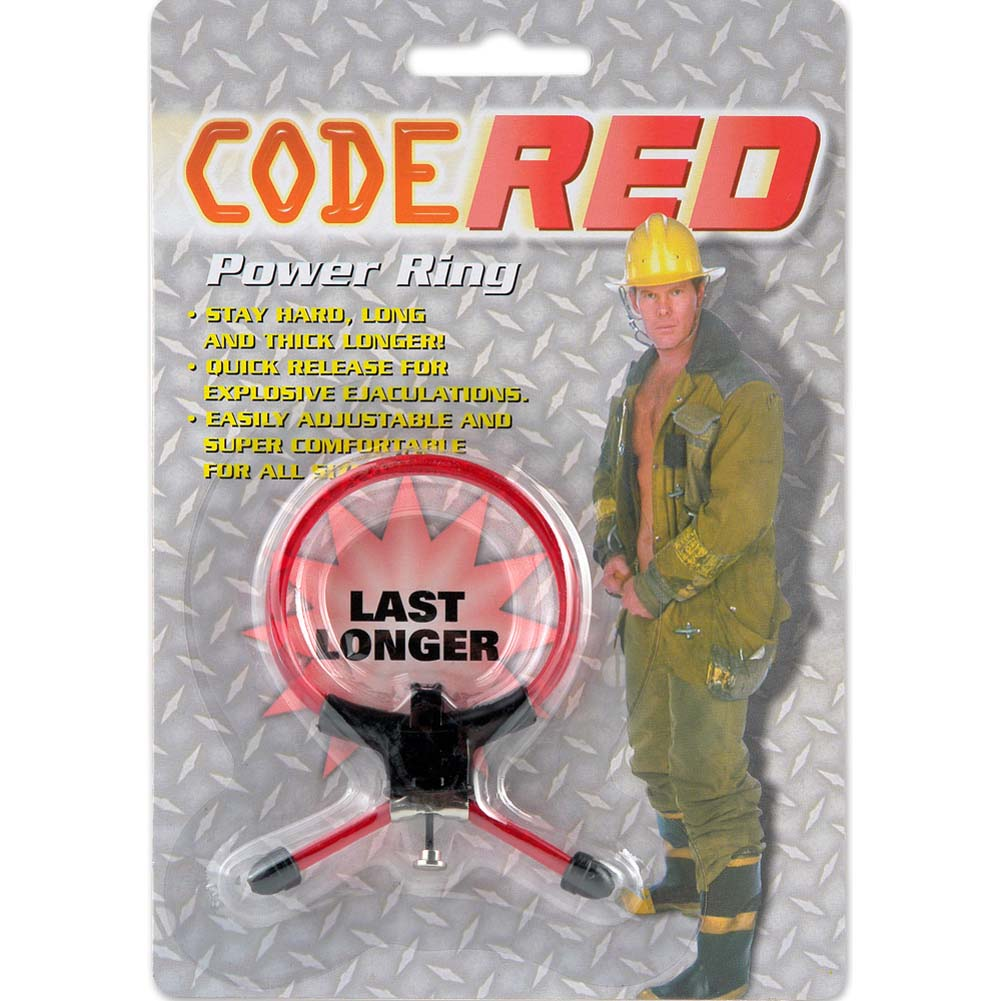 Code Red Power Ring Red - View #3