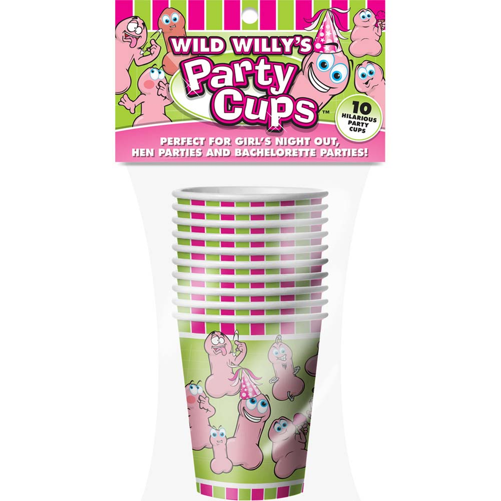 Wild WillyS Party Cups - View #1