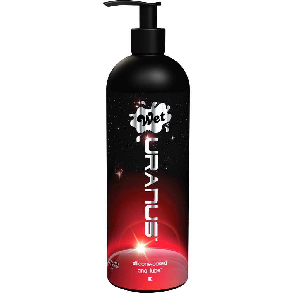 Wet Uranus Silicone-Based Anal Lubricant 15.7 Oz. - View #1
