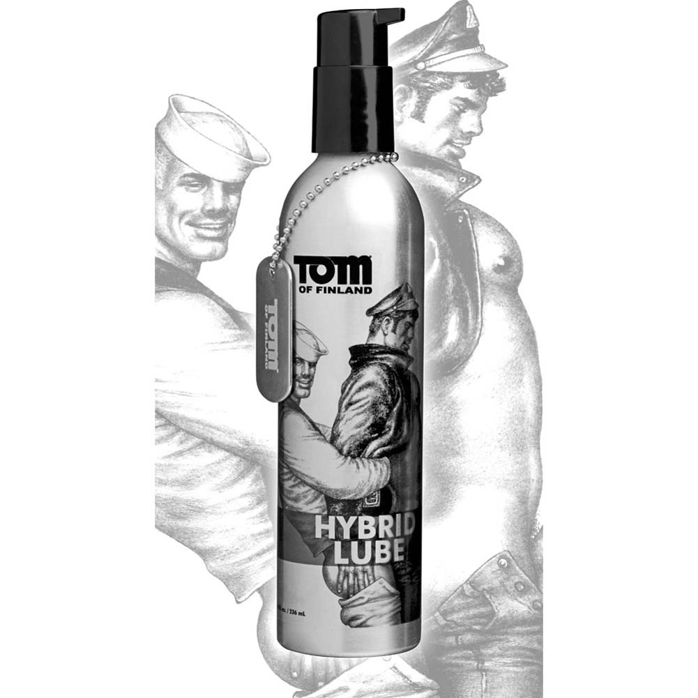 Tom of Finland Toms Spit Hybrid Lubricant 8 Fl.Oz. - View #1