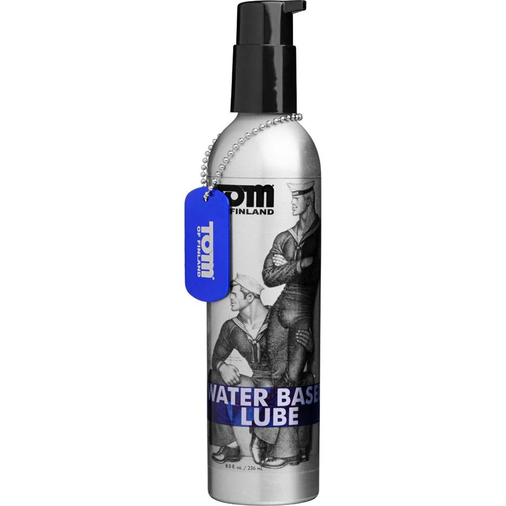 Tom of Finland Water-Based Lubricant 8 Fl.Oz. - View #2