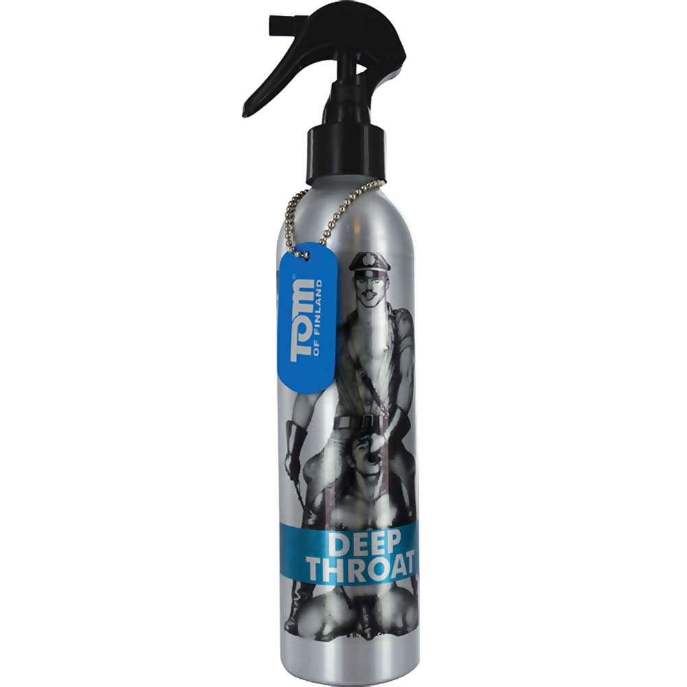 Tom of Finland Deep Throat Desensitizing Oral Spray 4 Fl.Oz 118 mL - View #2