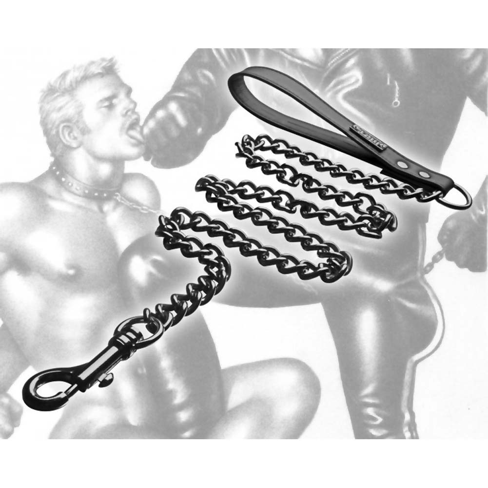 Tom of Finland Neoprene Leash Black - View #3