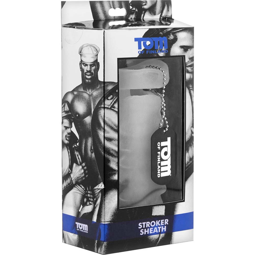 Tom of Finland Stroker Sheath White - View #1