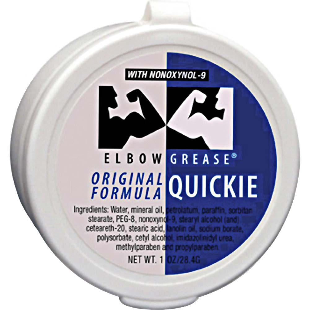 Elbow Grease Original Quickie Cream 1 Ounce 28.4 G Mini Jar - View #1