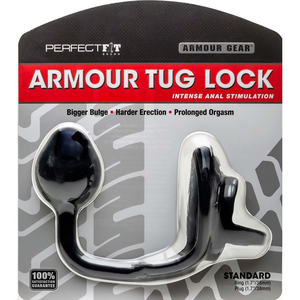 Perfect Fit Armour Tug Lock Black - View #1