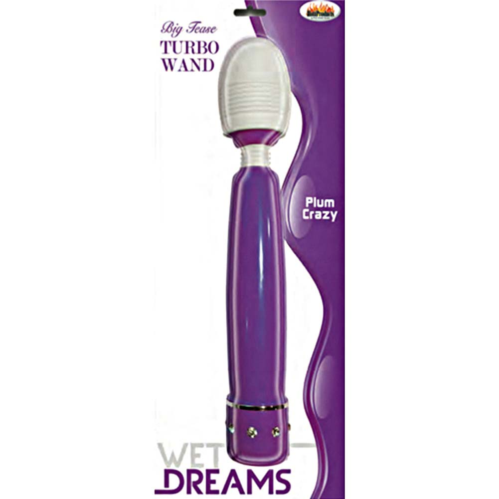Wet Dreams Big Tease Turbo Wand Plum Crazy - View #1