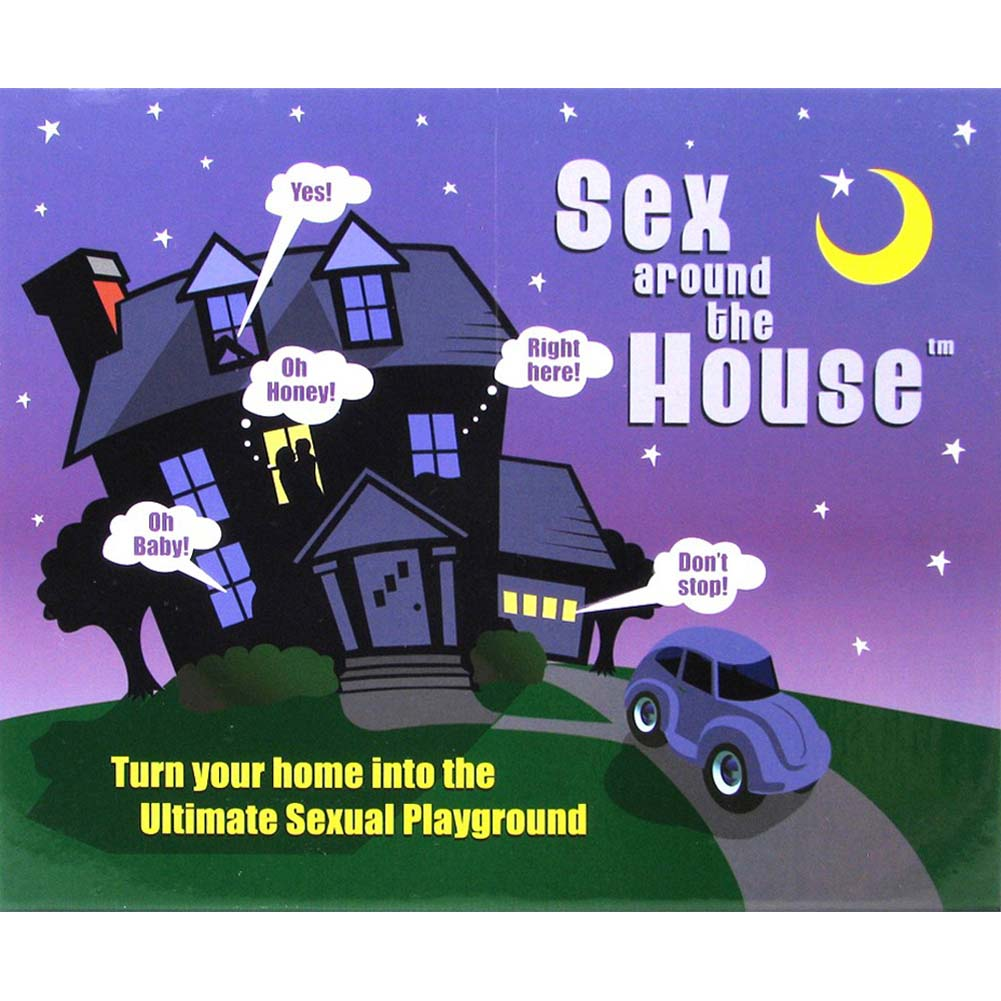 Sex Around The House Board Game for Lovers - View #1