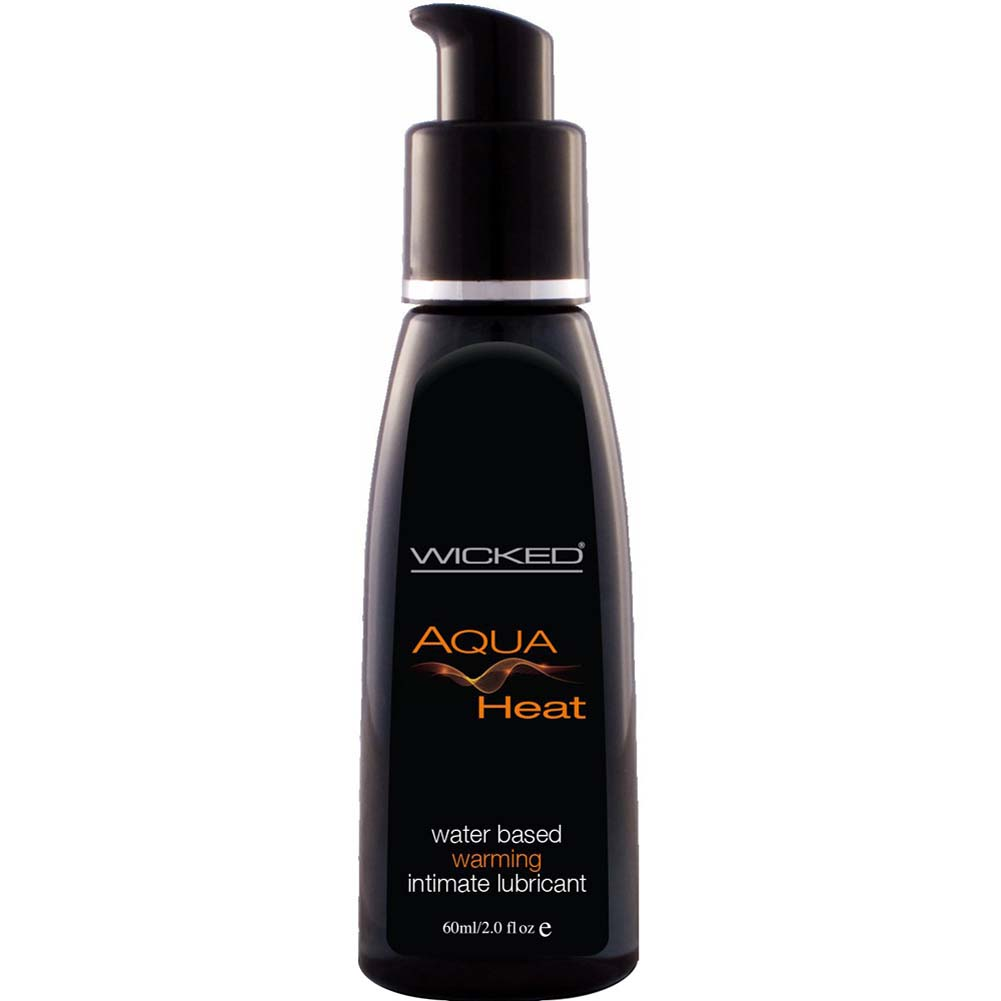 Wicked Aqua Heat Water Based Intimate Lubricant 2 Fl.Oz 60 mL - View #1