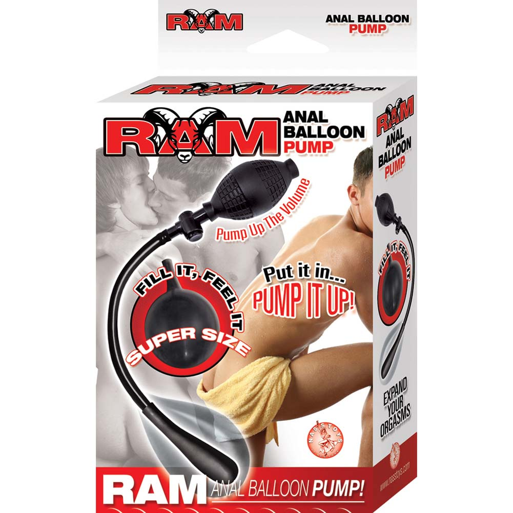 Ram Anal Balloon Inflatable Pump Black - View #1