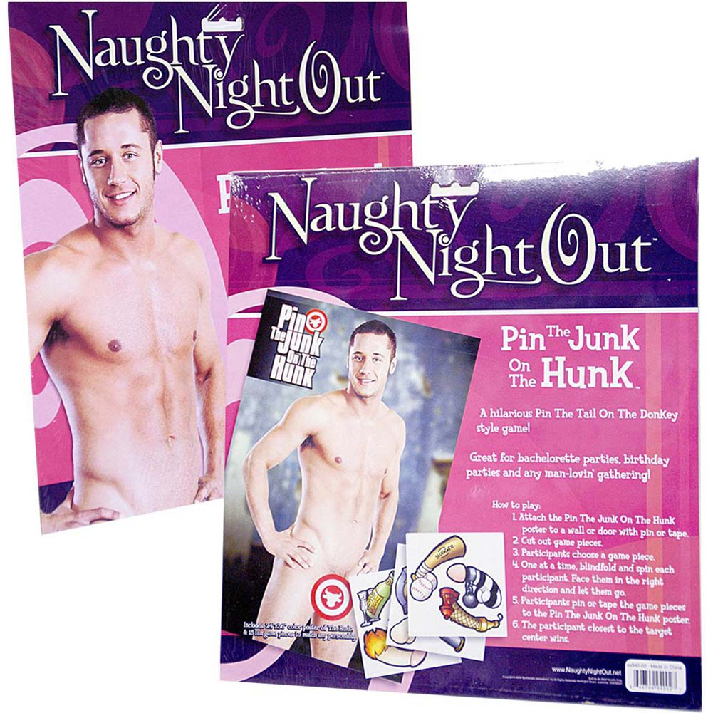 Sportsheets Naughty Night Out Pin the Cock On the Jock - View #4