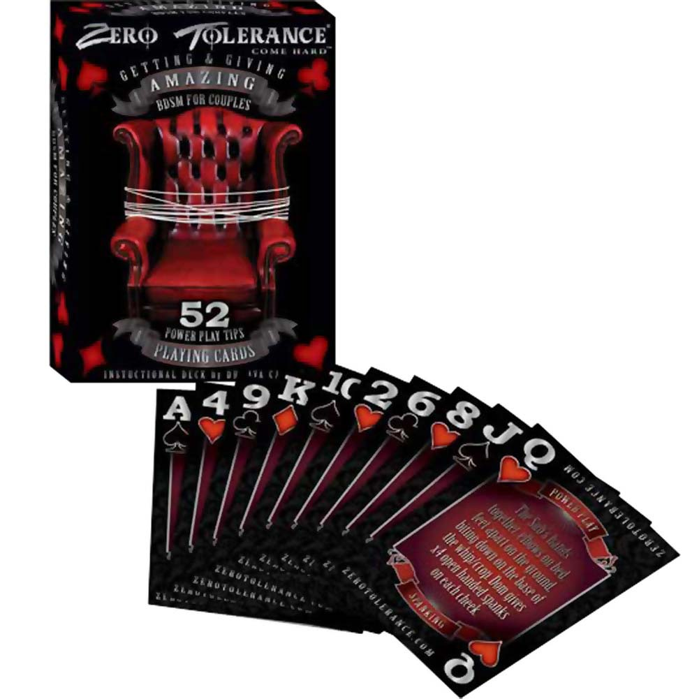 Zero Tolerance Getting and Giving Amazing BDSM for Couples Playing Cards - View #2