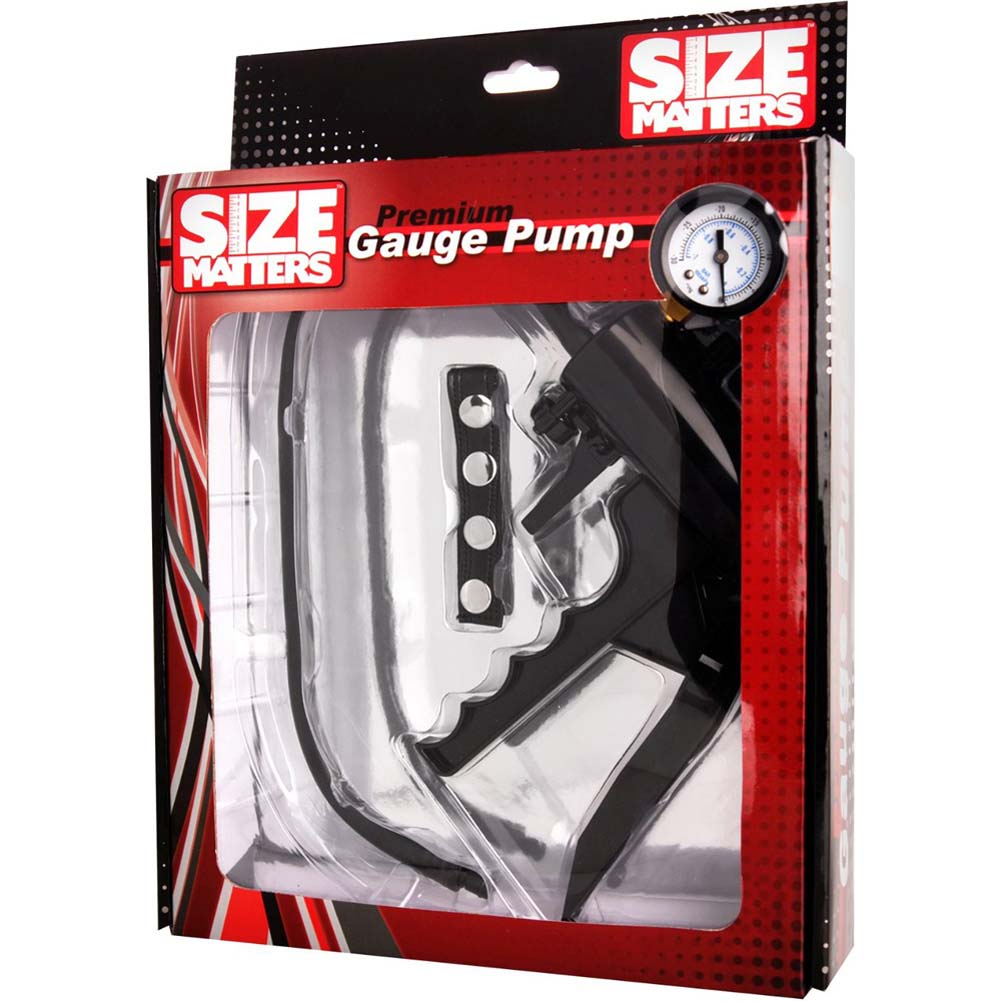 Size Matters Premium Gauge Pump Black - View #3