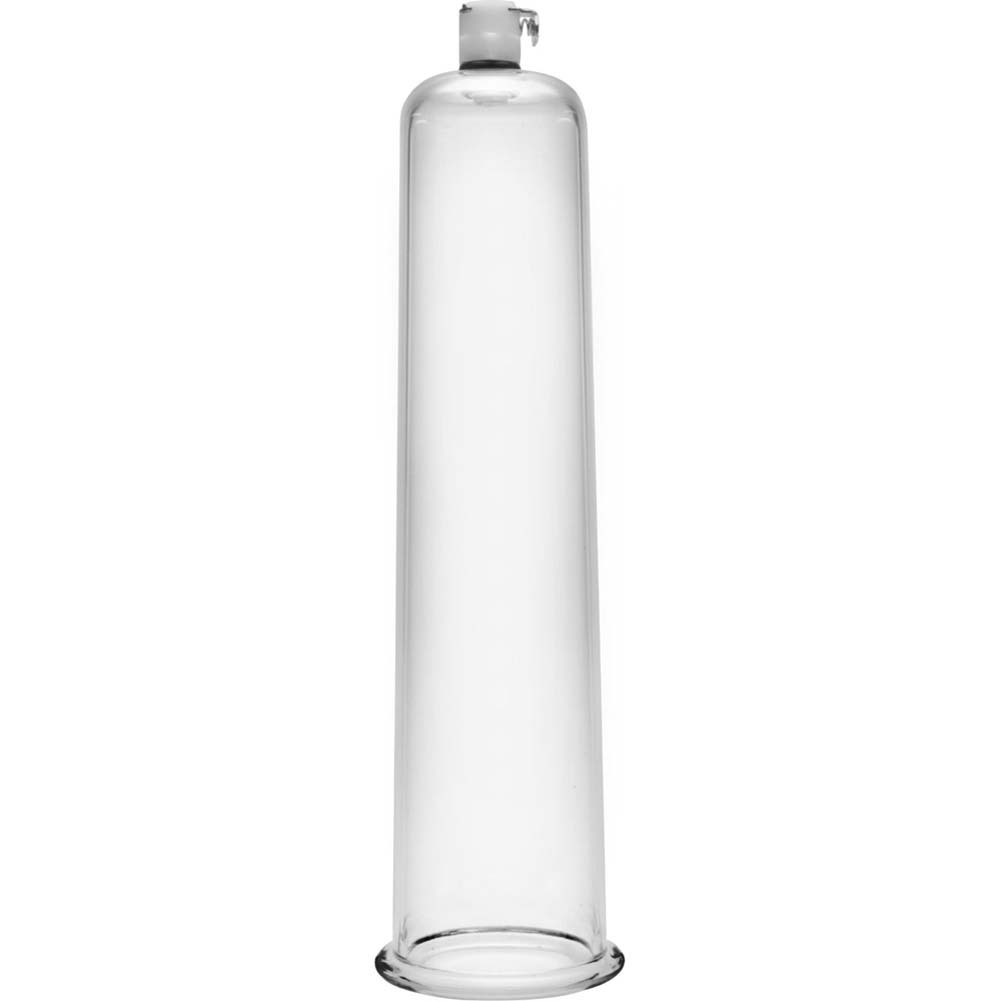 "Size Matters Penis Pumping Cylinder 2.25"" Diameter Clear - View #2"