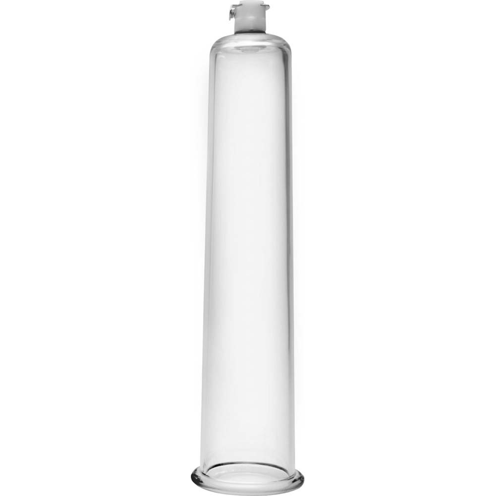 "Size Matters Penis Pumping Cylinder 1.75"" Diameter Clear - View #2"