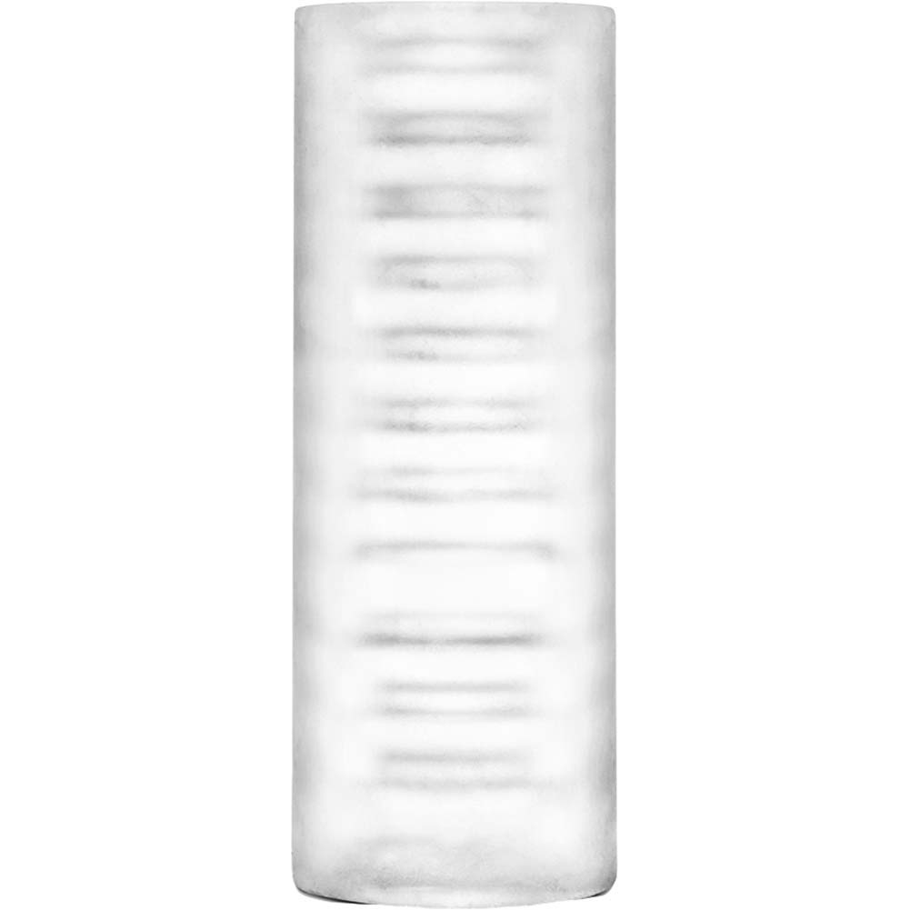 "Blush X5 Men Fifi Bag Masturbator 5.25"" Clear - View #3"