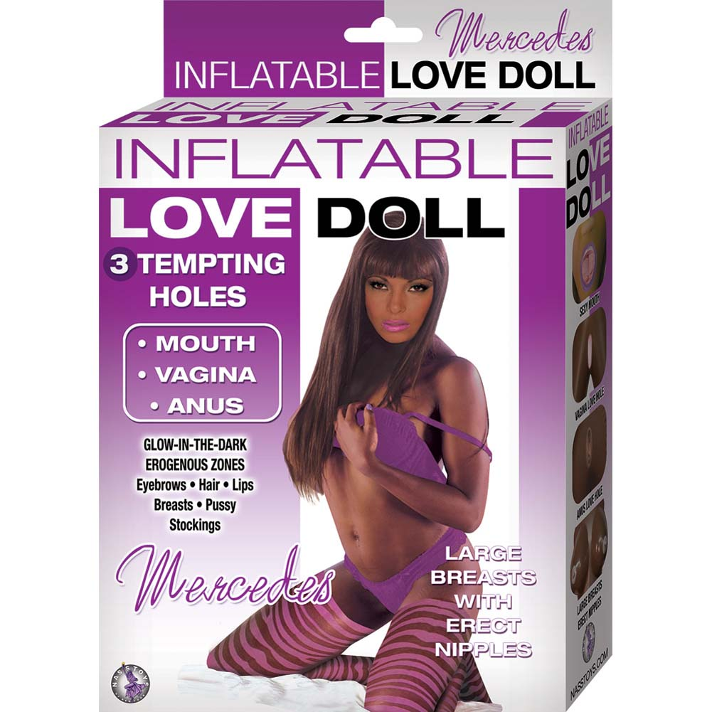 Inflatable Love Doll Mercedes Brown - View #1