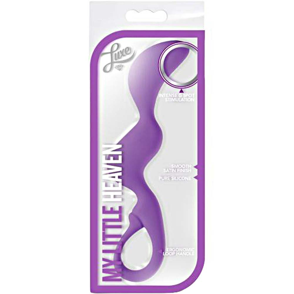 "Blush Luxe My Little Heaven Dildo 7.25"" Purple - View #1"