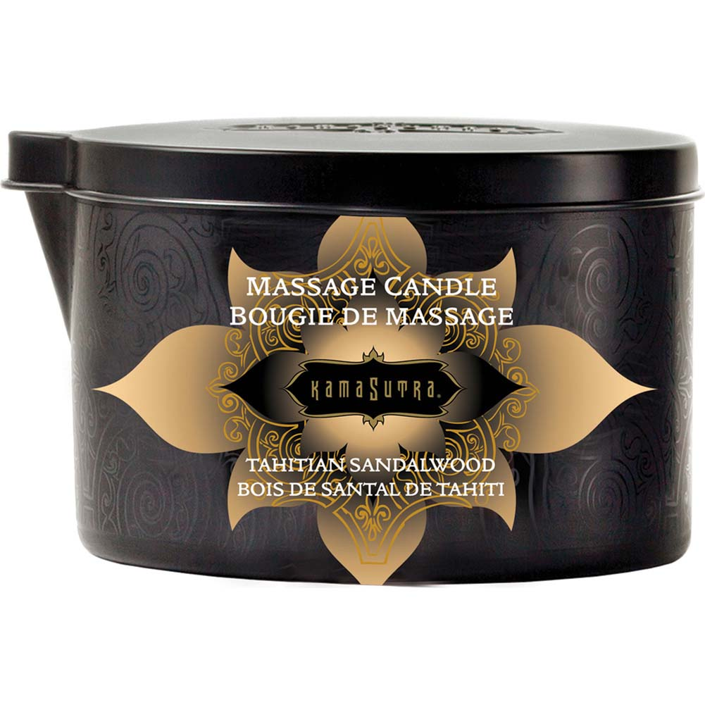 Ignite Massage Candle by Kama Sutra 6 Oz 170 G Tahitian Sandalwood - View #1