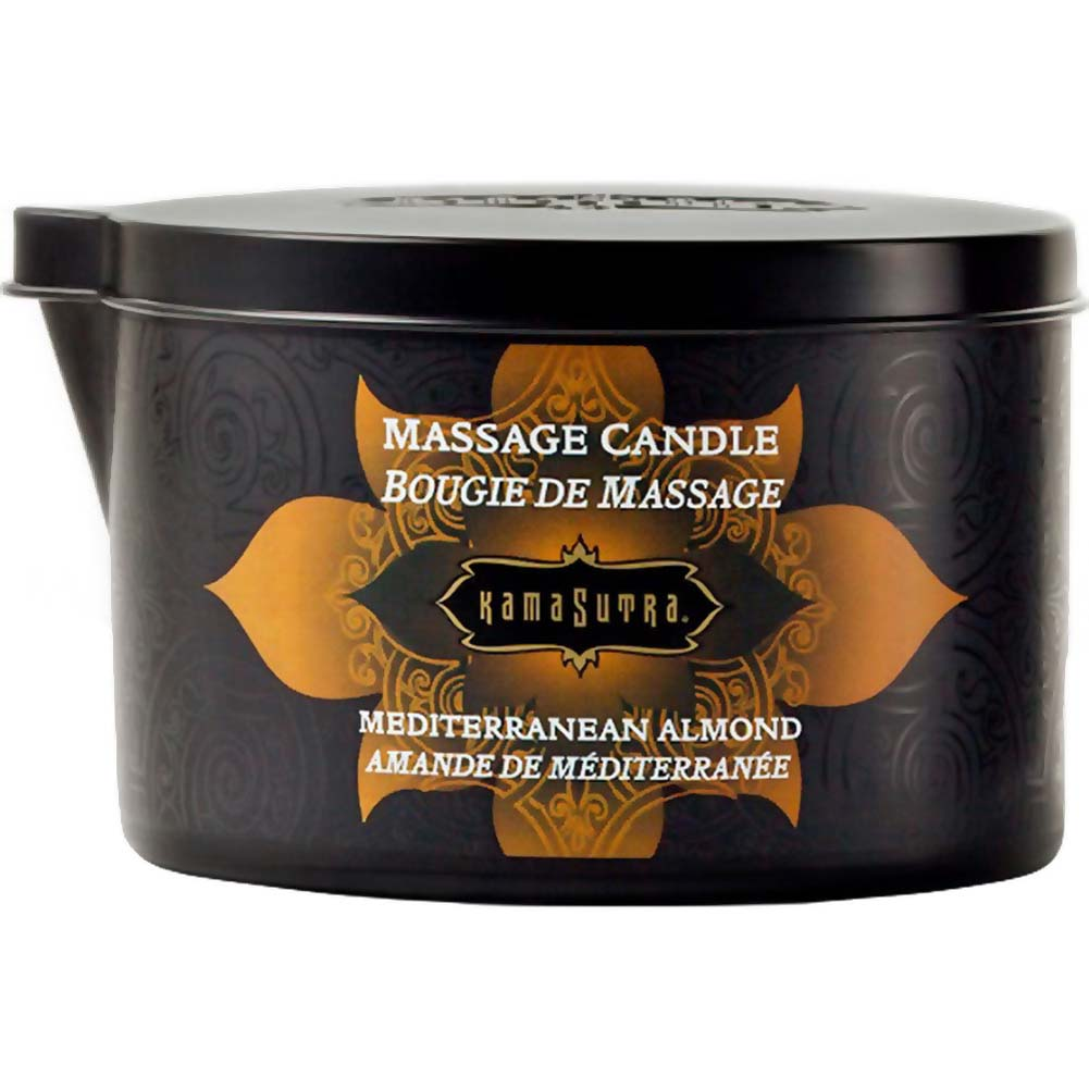 Kama Sutra Massage Candle Mediterranean Almond 6 Oz. - View #1