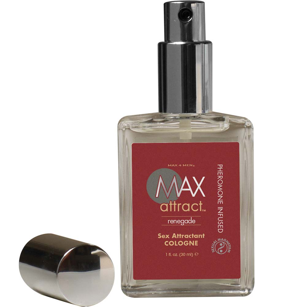 Max 4 Men Max Attract Renegade Cologne with Pheromones 1 Fl.Oz. Boxed - View #2