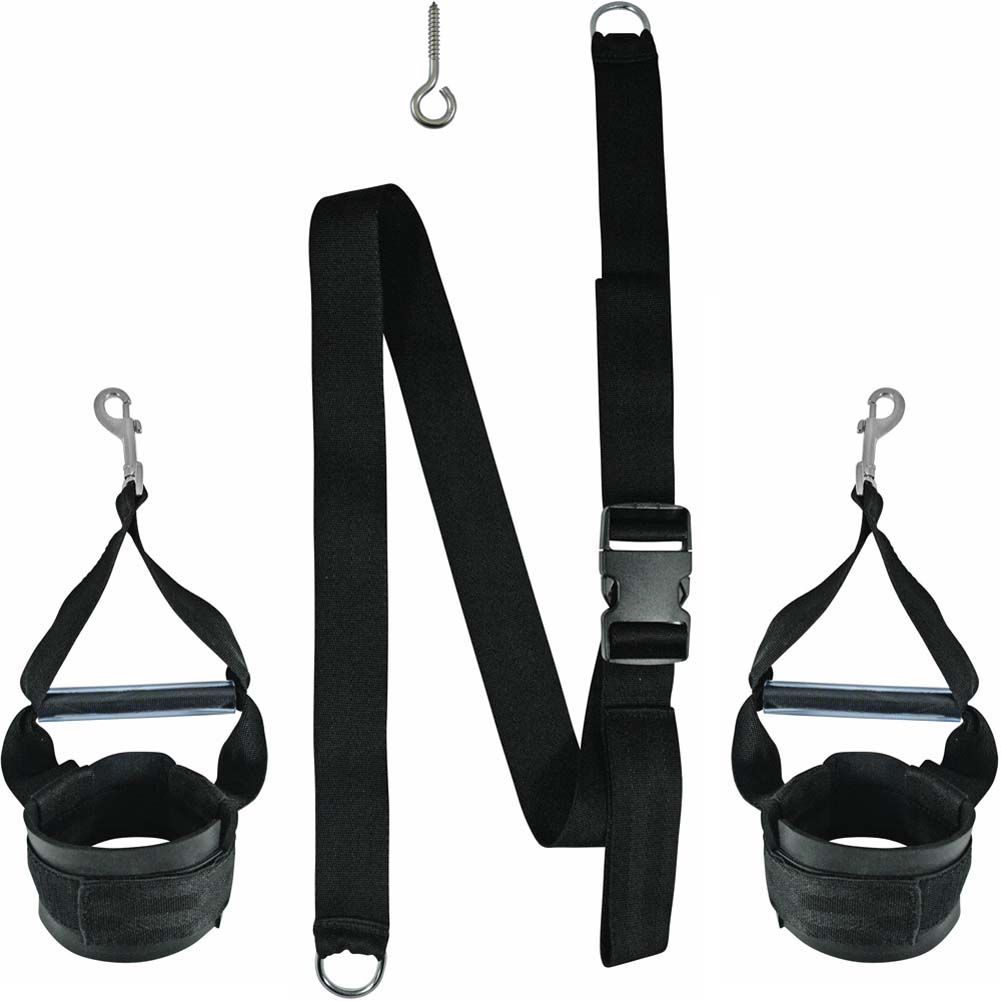 SportSheets Surrender Grip Cuffs Black - View #2