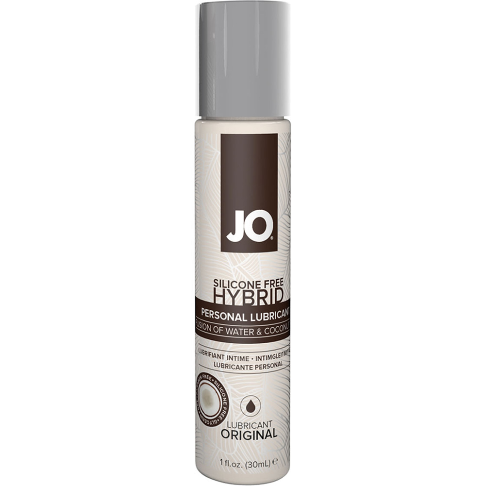 JO Silicone Free Hybrid Lubricant with Coconut Original 1 Fl. Oz. - View #1