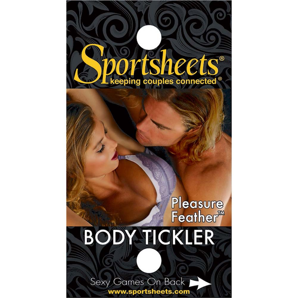 Sportsheets Pleasure Feather Tickler Red - View #1