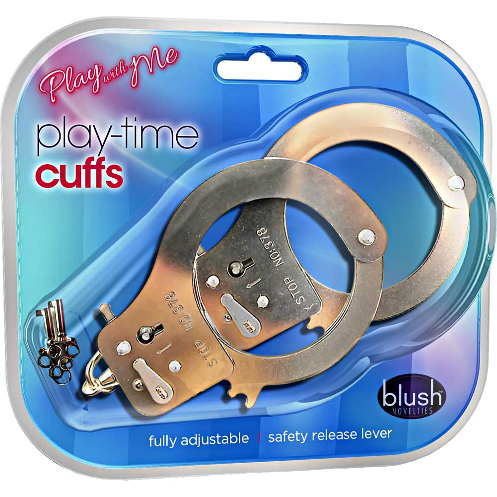 Blush Play with Me Play Time Cuffs Silver - View #1