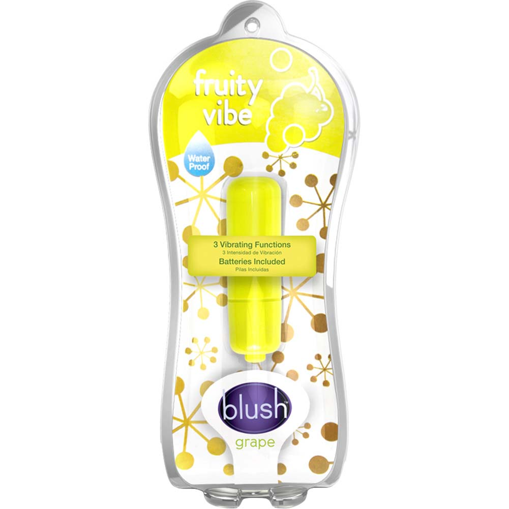 "Blush Fruity Vibe Personal Bullet Vibrator 2.25"" Grape - View #1"