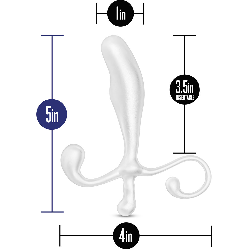 "Blush Performance Prostimulator VX1 Prostate Massager 5"" White - View #1"