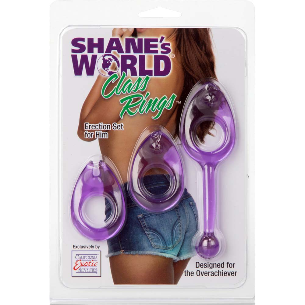 ShaneS World Class Rings Erection Set Purple - View #1