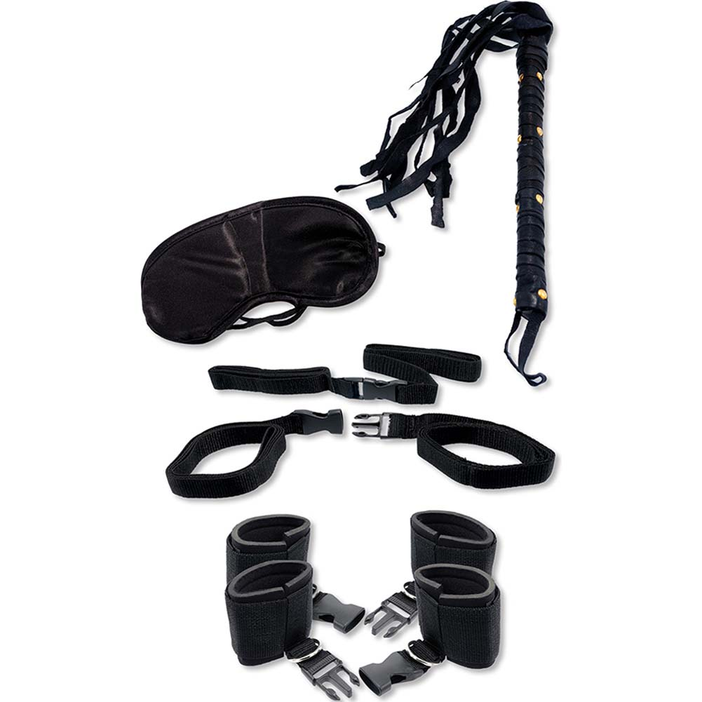 Fetish Fantasy Bedroom Bondage Kit Kinky Black - View #2