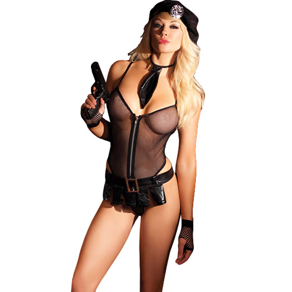Be Wicked Bedroom Cop Costume 5 Pieces Set Small/Medium - View #1