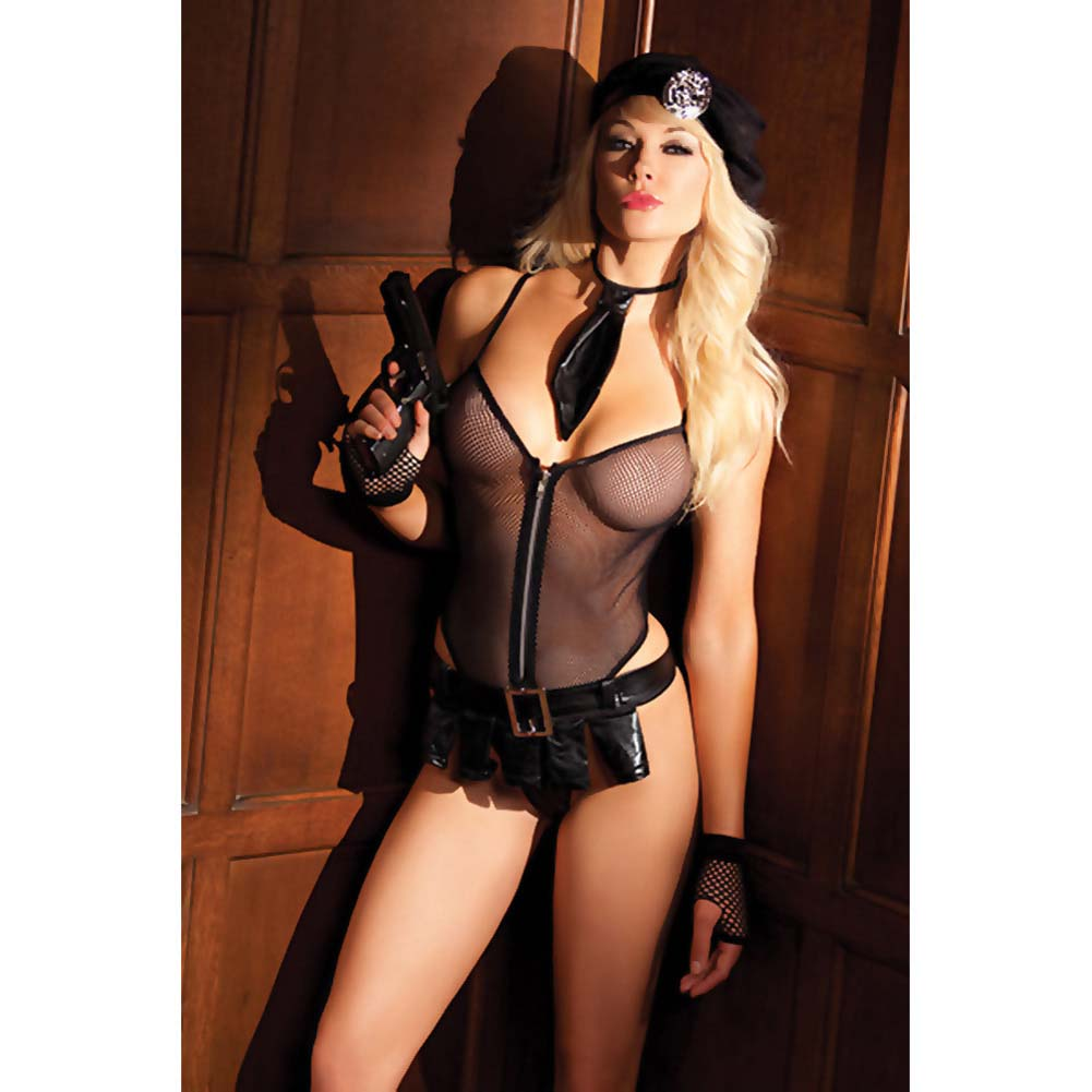 Be Wicked Bedroom Cop Costume 5 Pieces Set Small/Medium - View #3