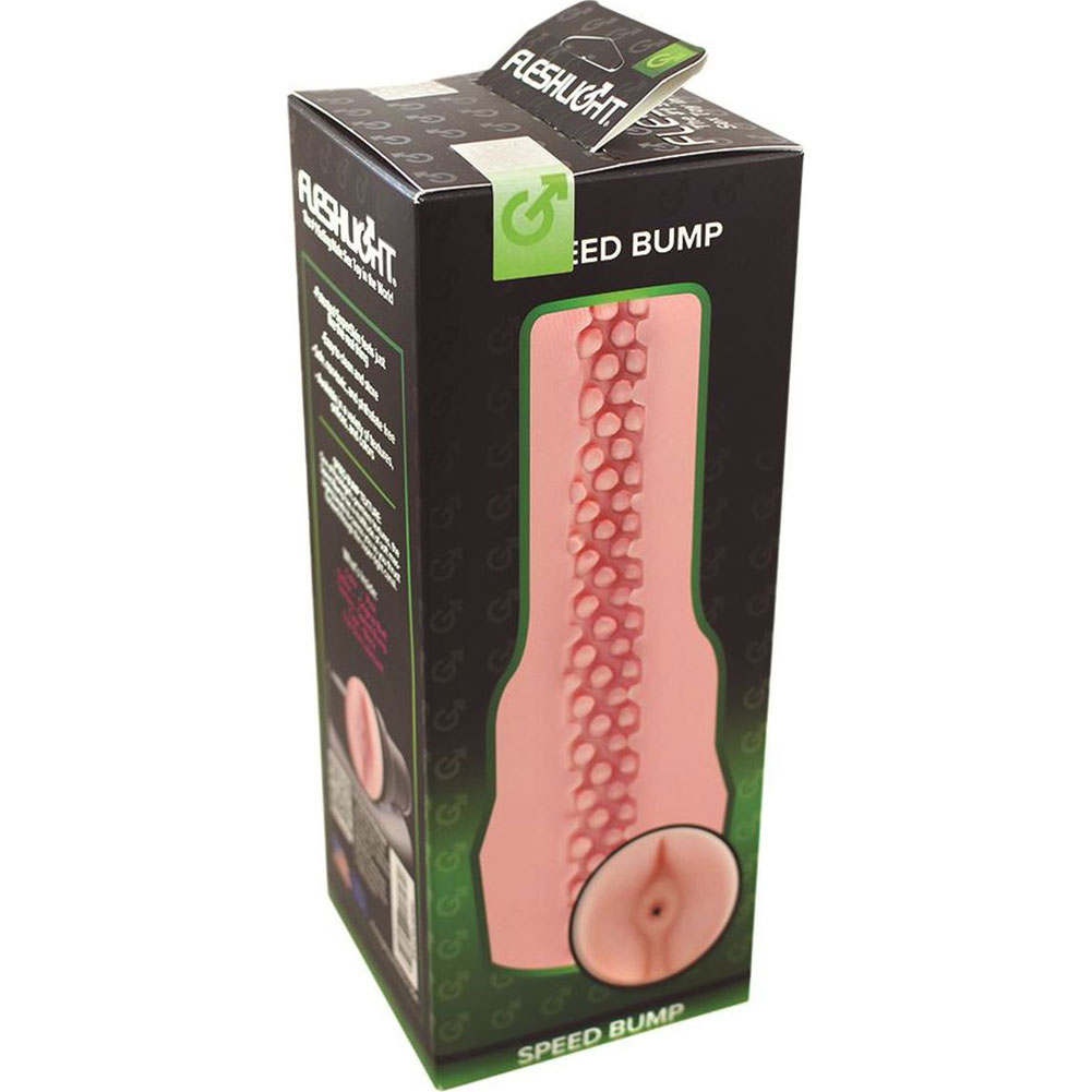 Fleshlight Pink Butt Speed Bump SuperSkin Masturbator for Men - View #4