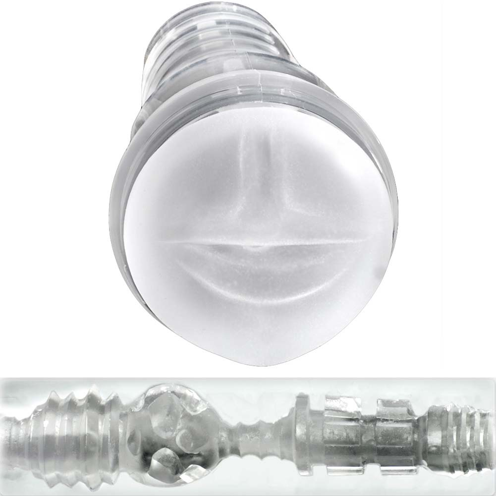 Fleshlight Ice Mouth Crystal Premium Masturbator for Men - View #3