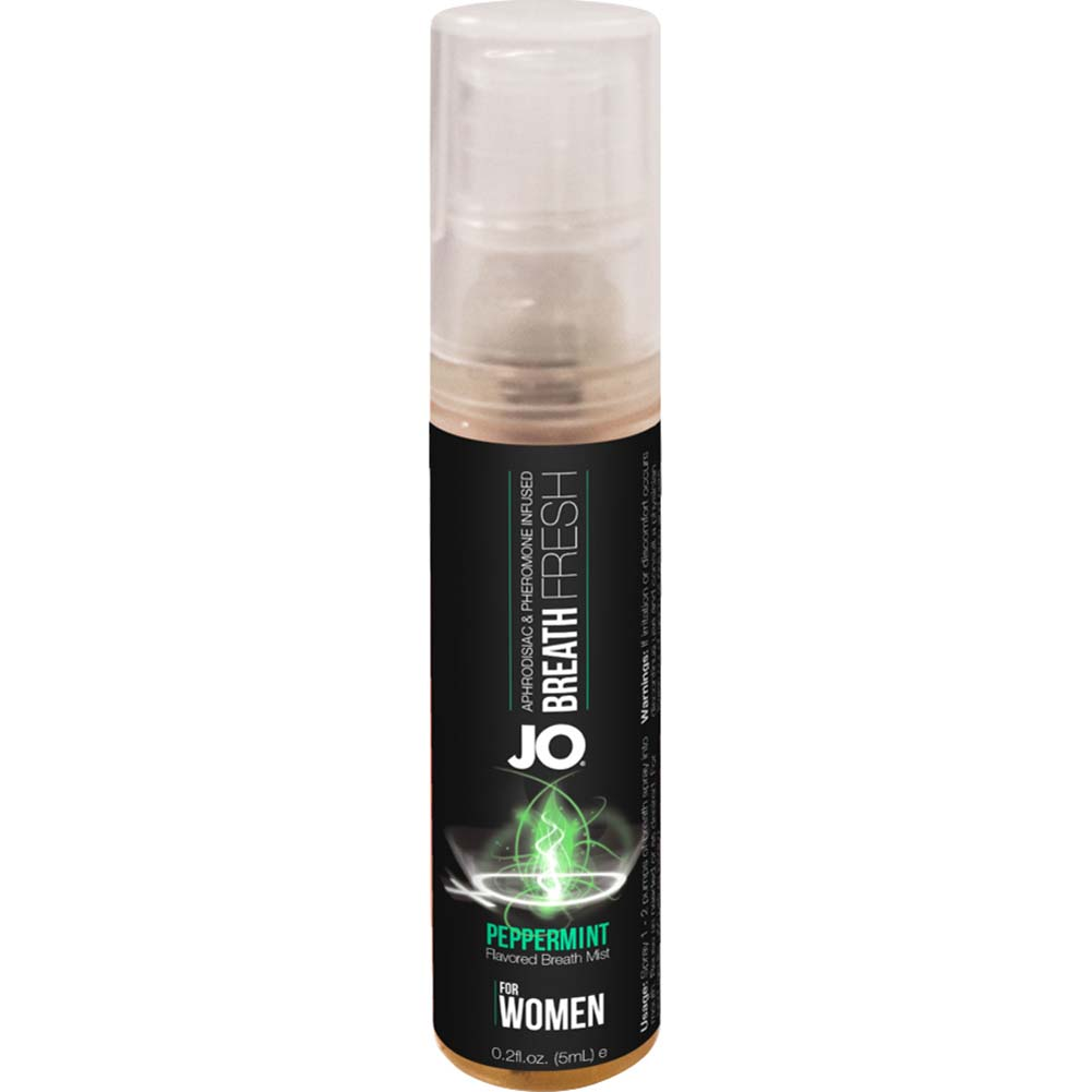 JO for Women Breath Fresh Mist with Pheromone 0.2 Fl.Oz 5 mL Peppermint - View #2