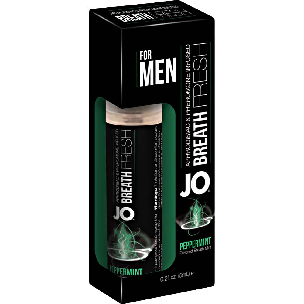 JO for Men Breath Fresh Mist Pheromone Peppermint 0.2 Fl. Oz. - View #1