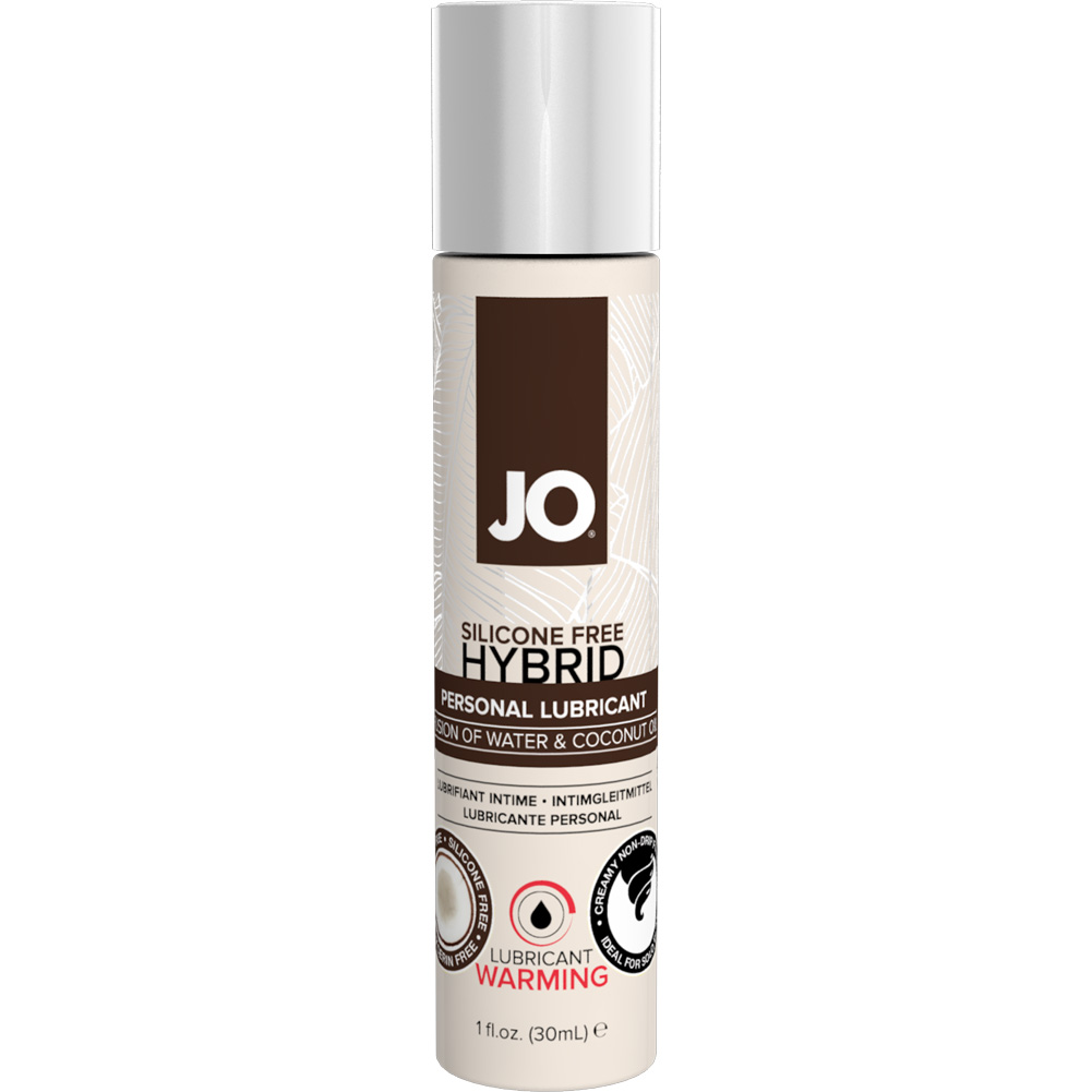 JO Silicone Free Hybrid Lubricant with Coconut Warming 1 Fl. Oz. - View #1
