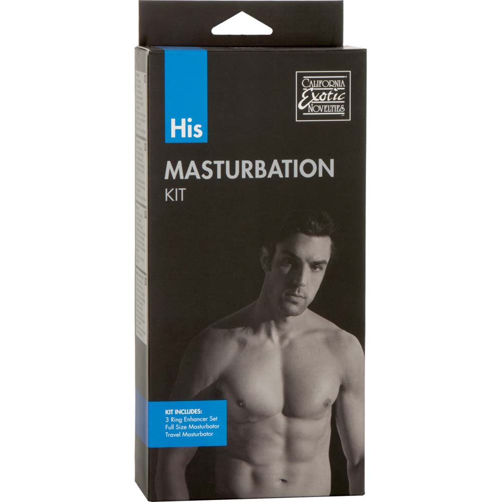 His Masturbation Kit for Men Clear - View #1