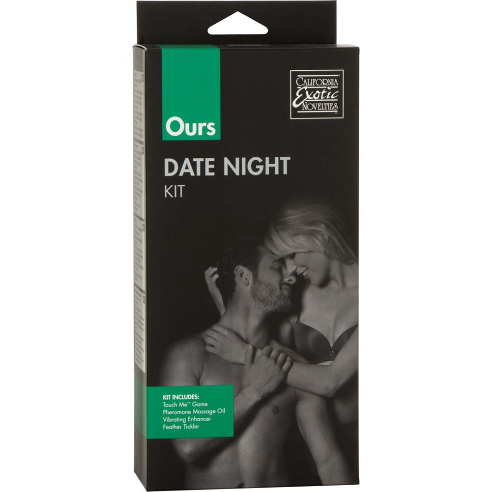 California Exotics Ours Date Night Sex Kit for Couples Pink - View #1