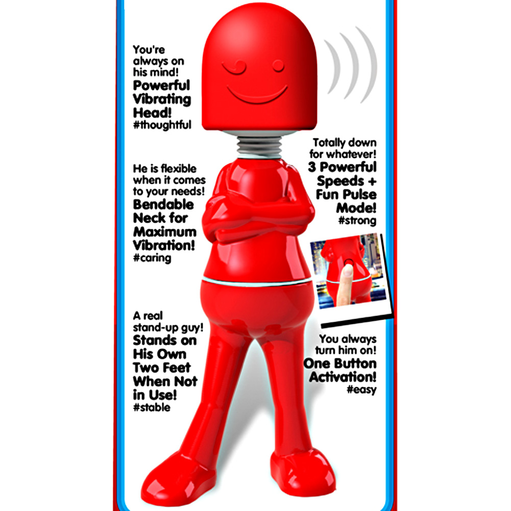 Screaming O OBob Battery Operated Boyfriend Red - View #1